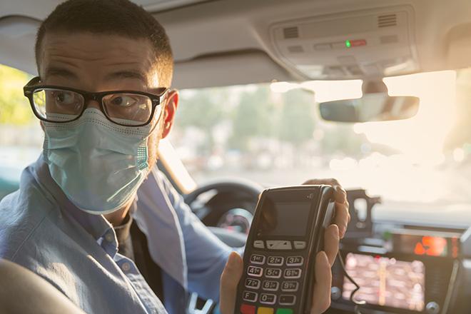 Taxi Nantes Carte de crédit